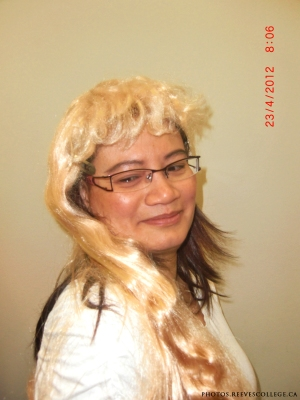 Crazy Hair Day at Reeves College Calgary City Centre Campus 002