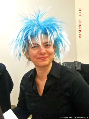 Crazy Hair Day at Reeves College Calgary City Centre Campus 005