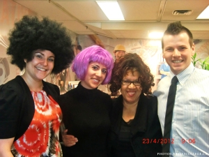 Crazy Hair Day at Reeves College Calgary City Centre Campus 006
