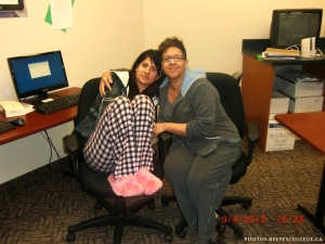 Pajama Day at Reeves College in Calgary City Centre Campus 011
