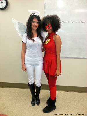 Halloween College Life - Students Having Fun in Calgary Alberta